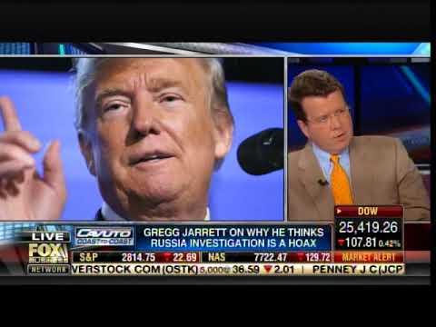 Watch Gregg Jarrett DESTROY #NeverTrumper Neil Cavuto on Russian Witch Hunt