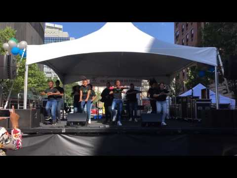 Sistars dance group performs at Bronx Music at Melrose 2017