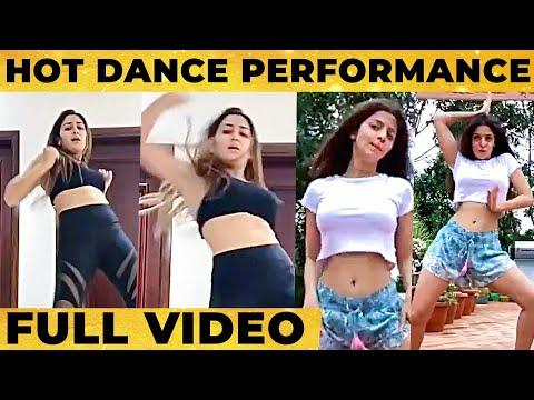 OMG🔥: Super HOT Dance by Sayyesha & Vedika😍- Semma Performance! Don't Miss | Taki Taki challenge