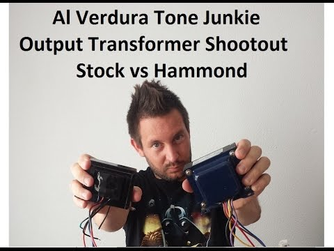 Output Transformer Shootout!!!! Hammond vs Stock