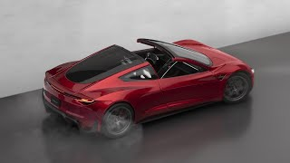 Photographing The New Tesla Roadster Diecast Model Car