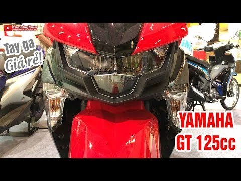 Yamaha GT 125cc Đánh Giá Xe Tay Ga