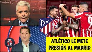 LA LIGA Atlético de Madrid SE ESCAPA en la punta y obliga a ganar al Real Madrid | Fuera de Juego