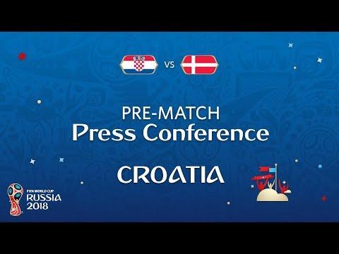 2018 FIFA World Cup Russia™ - CRO vs DEN : Croatia Pre-Match Press Conference