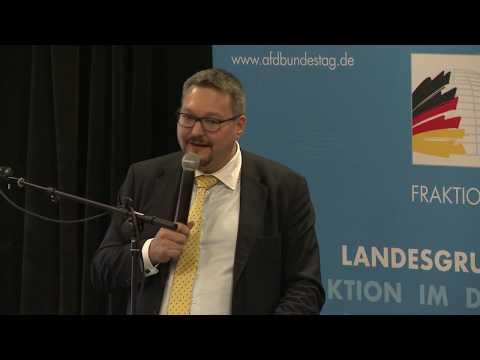 Gefahren der Bargeldabschaffung! - Stefan Keuter - AfD-Bürgerdialog Solingen 29.10.