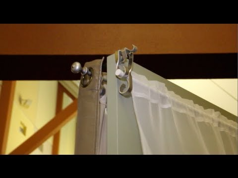 The Easiest Way To Hang Curtains