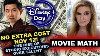 Shang Chi Disney Plus No Extra Cost November 12th - Studio Executives vs Talent