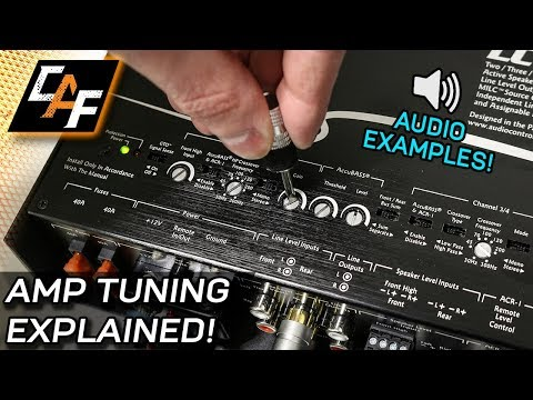 amplifier-tuning-settings-how-to---gain,-crossovers,-bass-boost