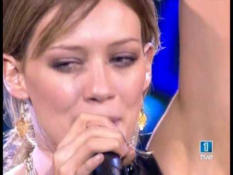 Hilary Duff - Beat of My Heart (Live)