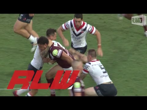 Sydney Roosters v Manly Sea Eagles trial highlights | Rugby League Week