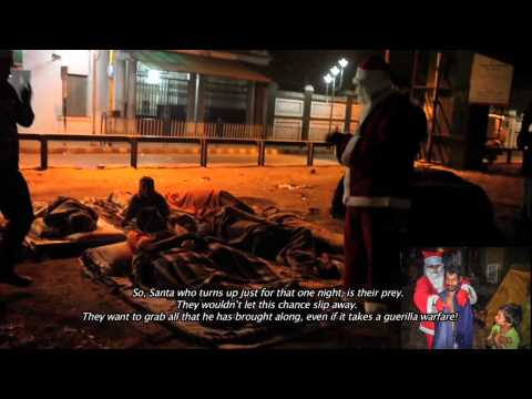 Fossils Force project - Santa Claus is...