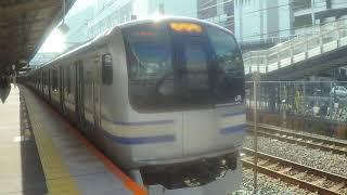 【JR横須賀線】 E217系Y-24編成 普通 東京行き 戸塚発車