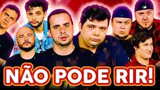 NÃO PODE RIR! com Gustavo Mendes, Rogério Morgado, Filipe Pontes, Rodrigo Cáceres e Gui Toledo