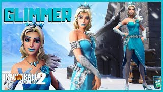 DRAGON BALL XENOVERSE 2 COMMENT I MADE GLIMMER SKIN DE FORTNITE PERSONNAGES PERSONNALISÉS