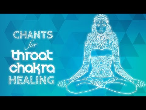 Soothing THROAT CHAKRA CHANTS | Seed Mantra HAM Chanting Med