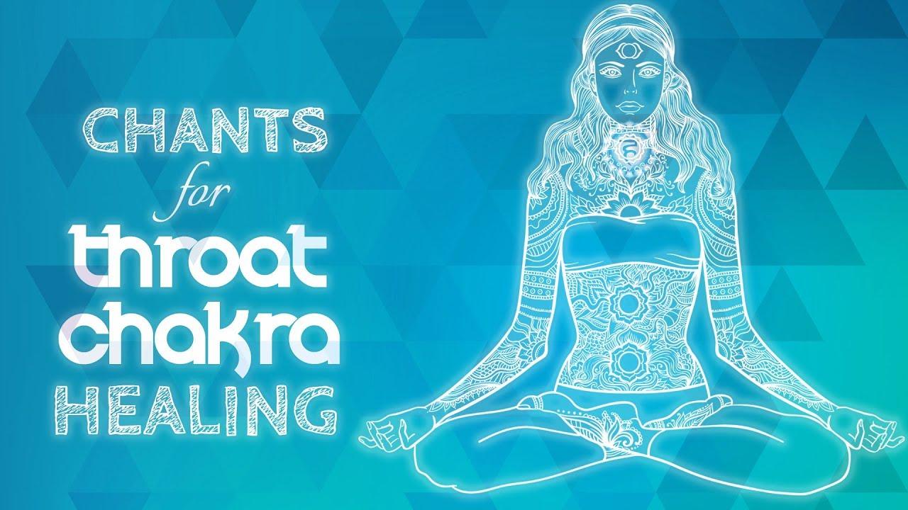 Soothing THROAT CHAKRA CHANTS | Seed Mantra HAM Chanting Meditation  {Vishuddha} Chakra Healing Music