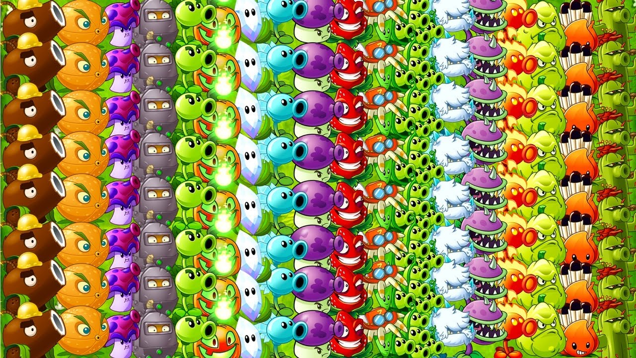 Every plant max level all tiles power up primal plants vs every plant max level all tiles power up primal plants vs zombies 2 ultimate power pvz 2 voltagebd Gallery