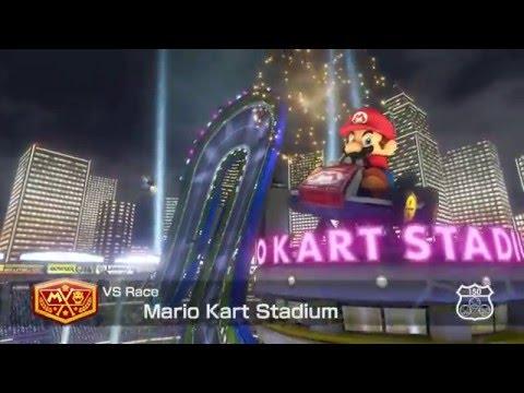 Mario Kart 8 - Mario Kart Stadium - 150cc Mushroom Cup - No Commentary