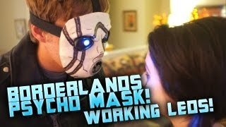 How to make a Borderlands Psycho mask with LED eyes! Tutorial Overview, By: ohaple
