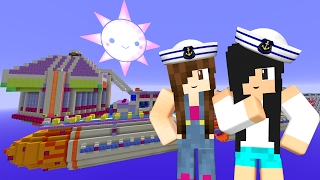 Minecraft Lucky Block - NAVIO MAIS LINDO DO MAR