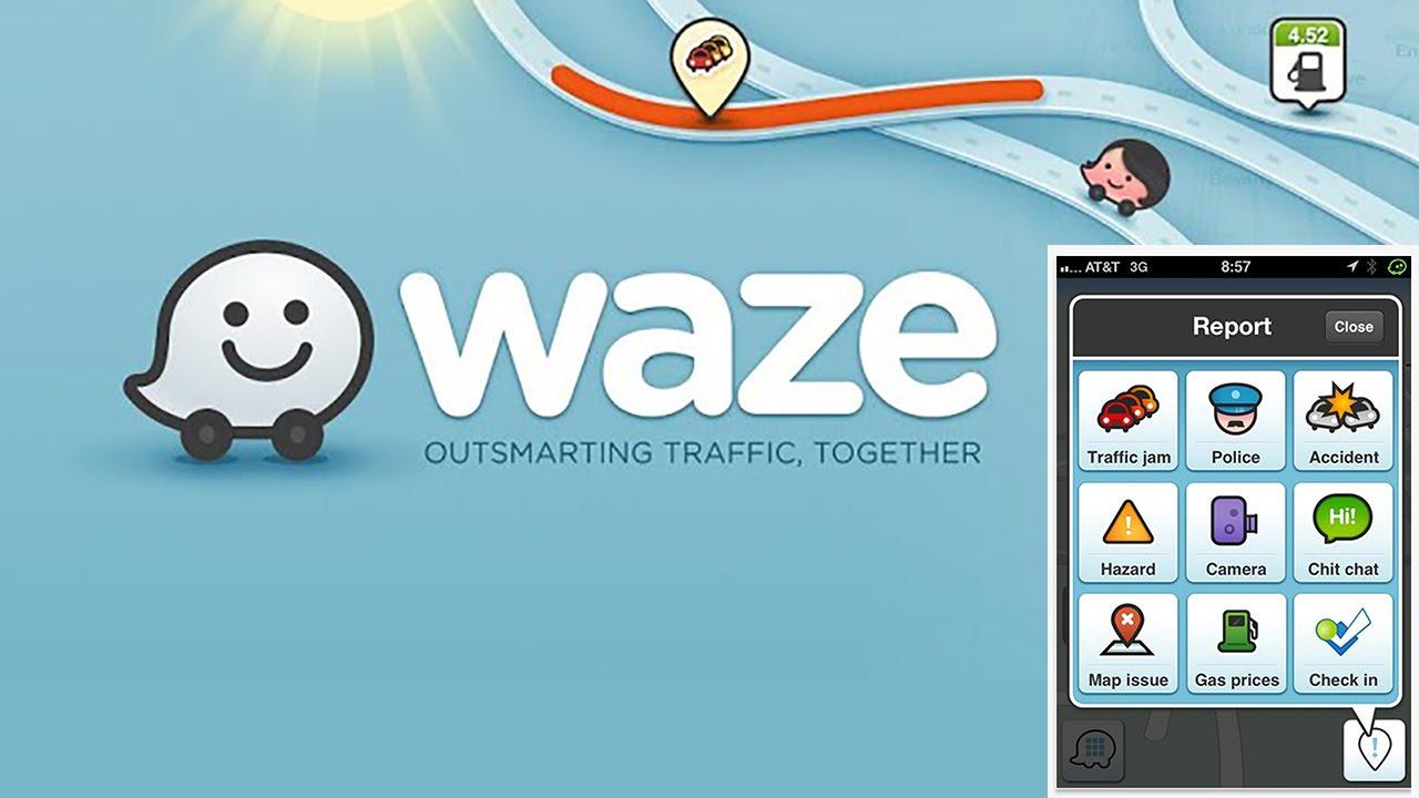 navigatore waze
