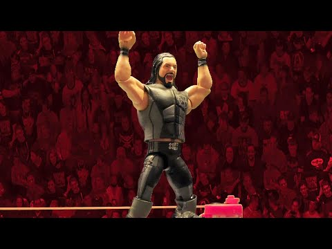 "Seth Rollins' ""Then. Now. Forever."" Elite Series Mattel action figure slays the competition"