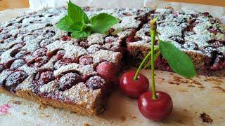 Советский рецепт Вишнево шоколадного десерта из Журнала РАБОТНИЦА