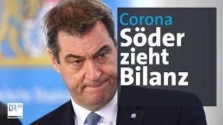 Pressekonferenz mit Markus Söder zu Corona-Maßnahmen | BR24