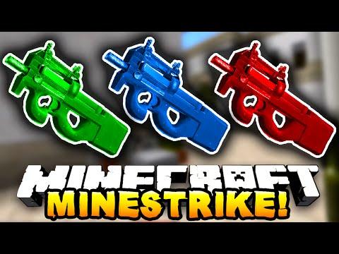 Minecraft MINESTRIKE! #1 (Minecraft Counterstrike) W/PrestonPlayz & NoochM