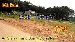Bán đất an viễn gần khu công nghiệp giang điền 5x20 giá 320tr