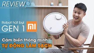 Robot hút bụi Xiaomi Gen 1: Hướng dẫn dọn dẹp nhà thông minh (SKV4022GL) • Điện máy XANH