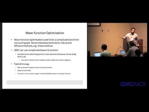 06 - Miguel A. Morales - Wavefunction Optimization