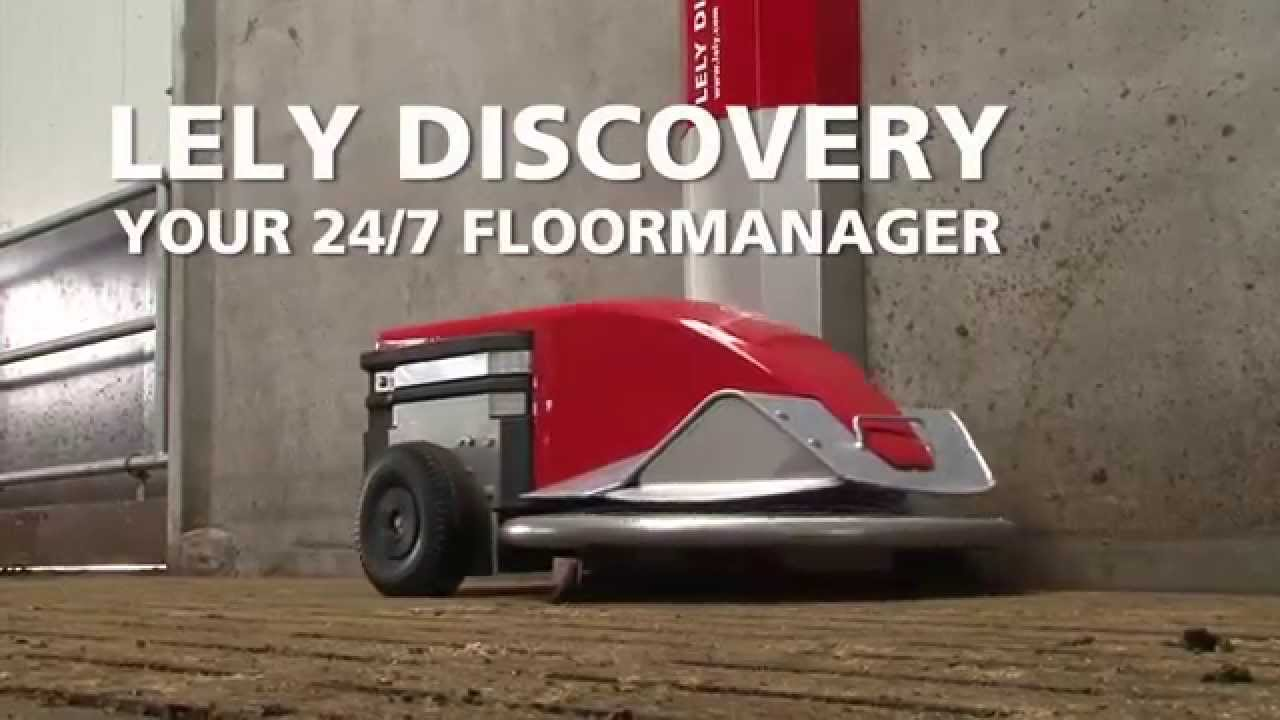 Lely Discovery 90 S mobile barn cleaner