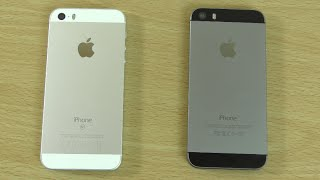 Apple iPhone SE vs iPhone 5S - Speed & Battery Test!(Speed, Games & Battery test of New iPhone SE & 5S! Amazon has the new SE for the best price! US - http://amzn.to/1X1W6Cz Connect with us on ..., 2016-04-01T08:51:30.000Z)