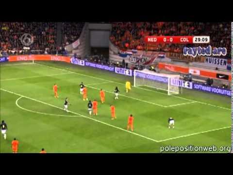 Daley Blind (Netherlands) vs Colombia. (11.19.2013)