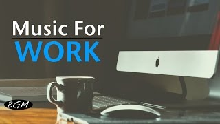 【Music For Work】Cafe Music - Jazz & Bossa Nova Instrumental Music - Background Music