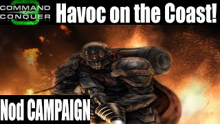 Let`s Play Command & Conquer 3: Tiberium Wars Nod Campaign Part 1 Havoc on the Coast!