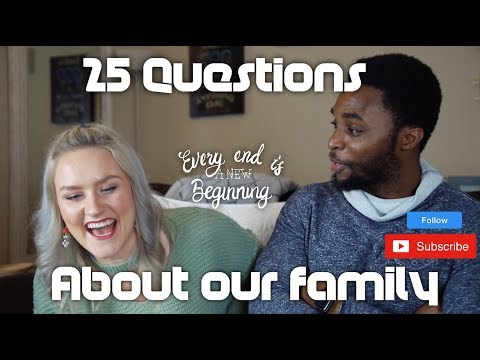 Q & A TIME | 25 QUESTIONS TO ASK YOUR FAMILY (VLOG 32)