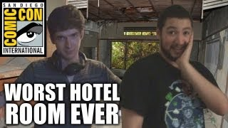 Repeat youtube video Worst Hotel Room EVER (SDCC 2013)
