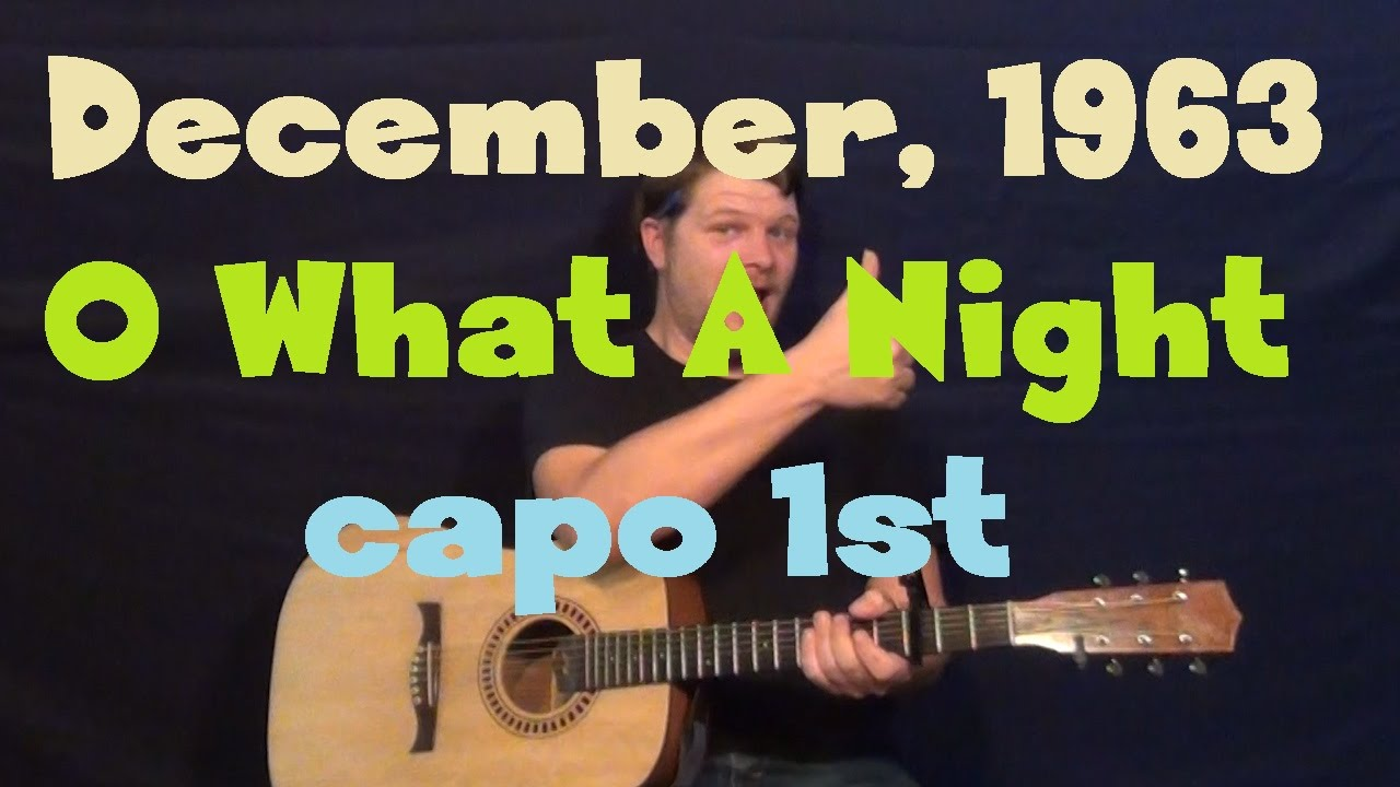 December 1963 oh what a night guitar lesson how to play december 1963 oh what a night guitar lesson how to play tutorial hexwebz Image collections
