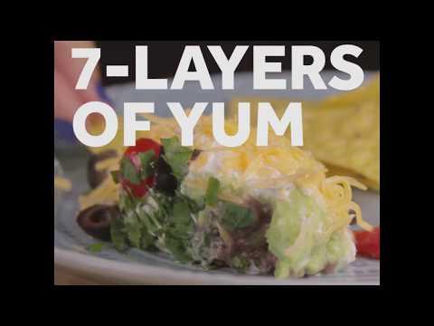 COCINA: 7 Layer Bean Dip
