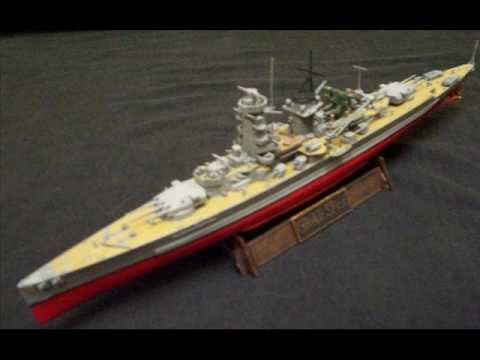 Graf Spee 1:700 Scale Trumpeter Built Assembled WWII German Pocket Battleship Model Ship
