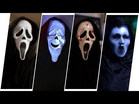 Ghostface Evolution in Movies, TV & Cartoons (Scream)