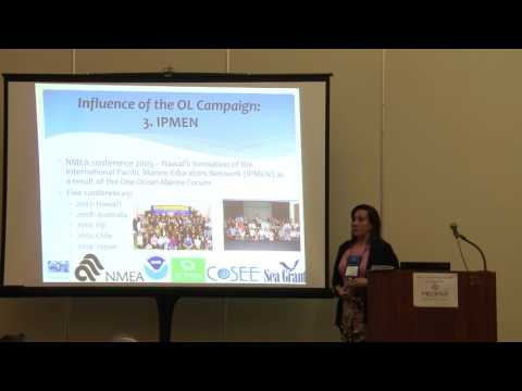 Diana Payne - History of ocean literacy in the United States