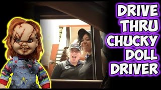 Repeat youtube video Drive Thru Scary Doll Driver