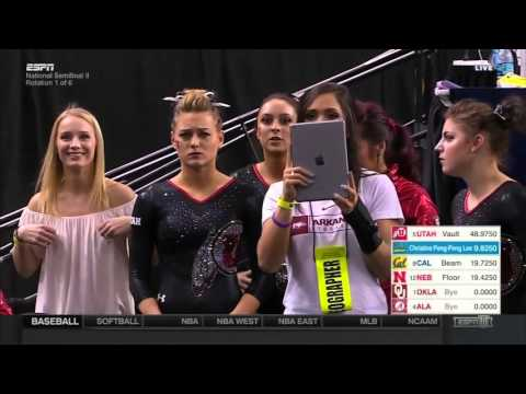 2016 NCAA WGym Semifinals Session 2 720p60 NastiaFan101 1