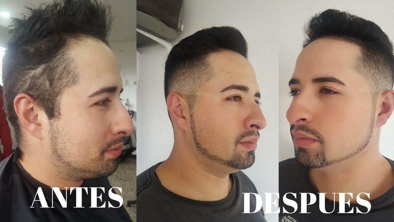 Corte Para Hombre Con Arreglo De Barba Y Peinado Leonardo Ramirez