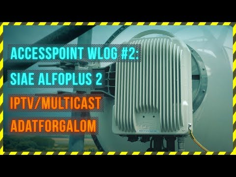 SIAE AlfoPlus 2 IPTV Multicast + adatforgalom WLOG #2 - ENGLISH SUBTITLES
