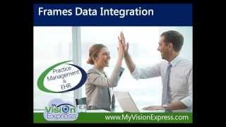 My Vision Express®: Frames Data® Integration