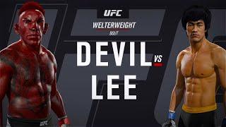 Devil vs. Bruce Lee (EA sports UFC 2)
